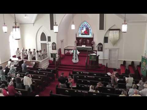 June 17 2012 Mt Tabor Lutheran Service