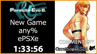 Parasite Eve 2 (PSX) Speedrun - New Game any% (Emu) - (1:33:56) [No Commentary]