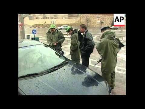 ISRAEL: SECURITY ALERT OVER POSSIBLE TERRORIST ATTACKS