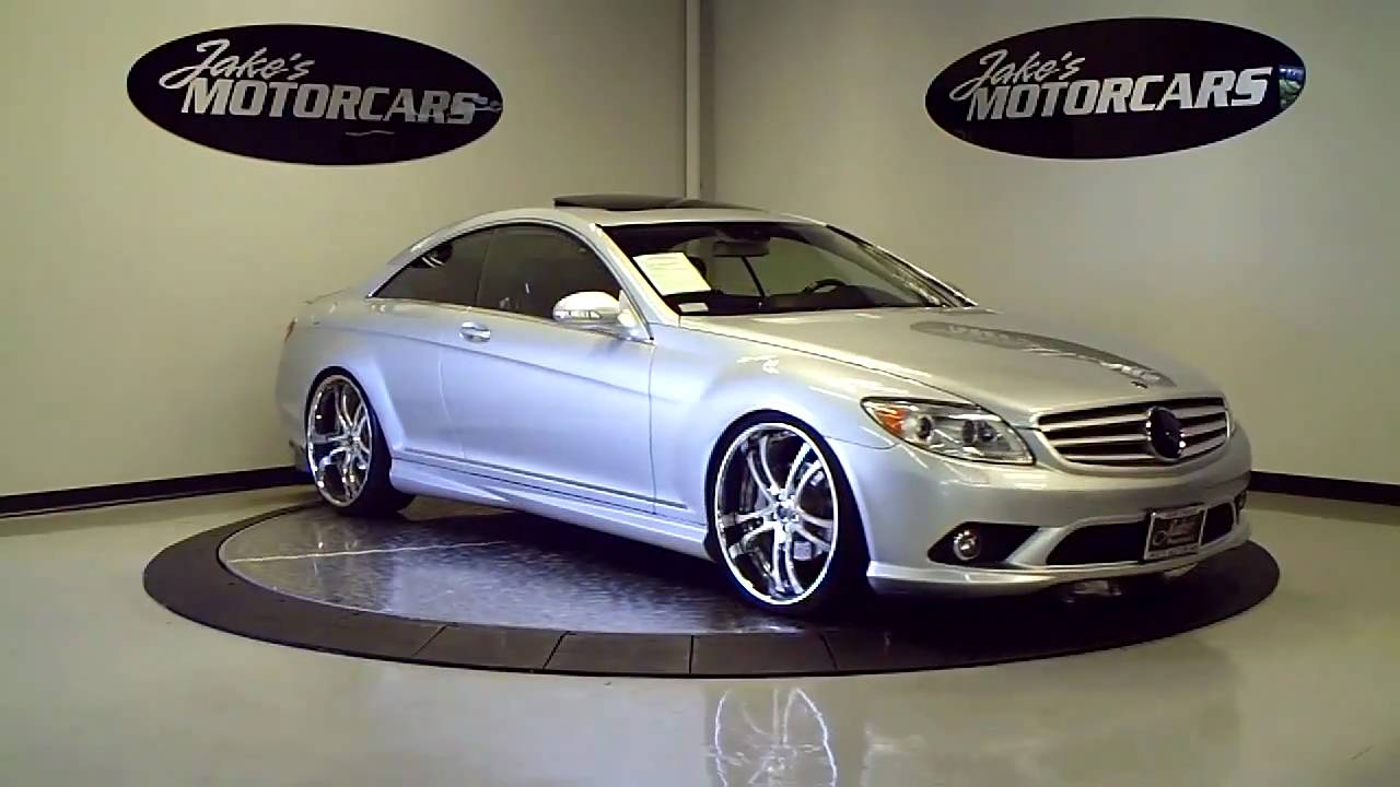 2008 mercedes benz cl550 with amg sport package jake s motorcars youtube