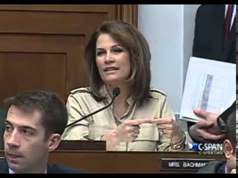 Rep. Bachmann Speaks at Financial Services Committee Hearing on FHA