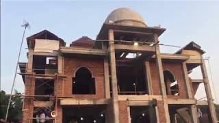 Sholat Idul Fitri 1439 H di Masjid Jami' Al-Khoirot desa Sidorejo Tirto Pekalongan