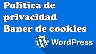 POLÍTICA DE PRIVACIDAD Y BANER DE COOKIES PARA WORDPRESS.mp3