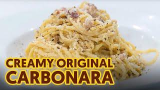 Creamy Original Carbonara