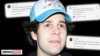 David Dobrik Called Out For Mocking Asians & Begs Fans To Leave His House Alone!