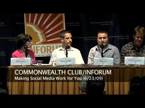 INFORUM Social Media Panel (6/23/09)