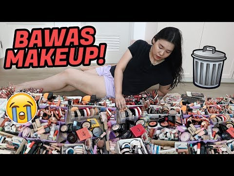 MAKEUP DECLUTTER PHILIPPINES! (isang oras to, grab a snack hehe)
