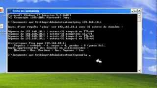 la configuration de serveur DHCP sur fedora