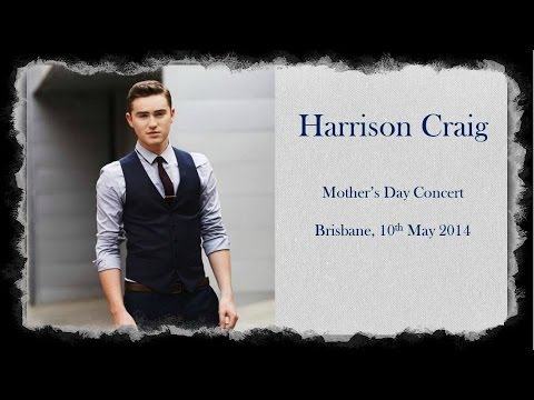 Harrison Craig - Brisbane Mother's Day concert 2014