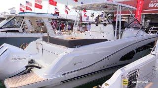 2020 Jeanneau Leader 10.5 Motor Boat - Walkaround Tour - 2020 Miami Boat Show