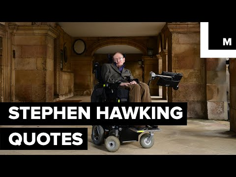 Here are some of Stephen Hawking's most inspirational quotes