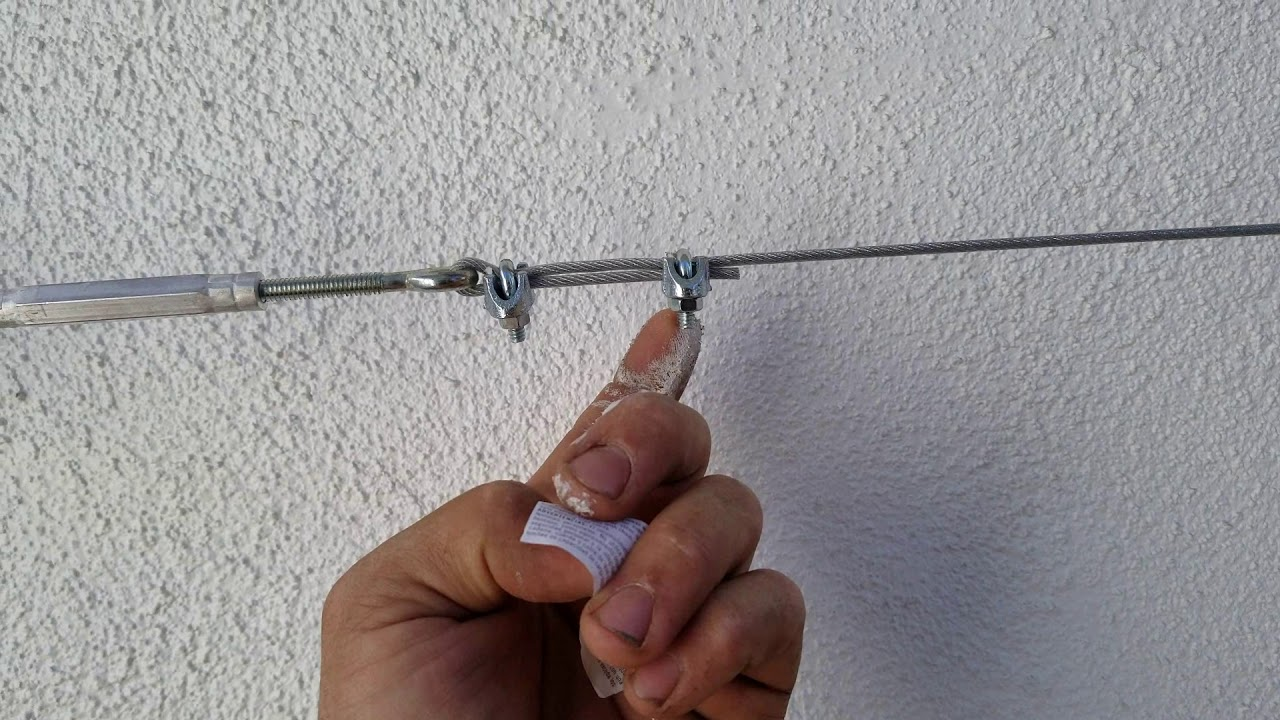 How To Attach Ivy To A Wall Wire Lattice Youtube