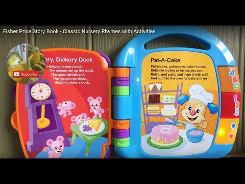 Fisher Price Story Book - Classic Nursery Rhymes With Activities
