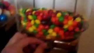 Gumball / skittle machine hacking-The Art of tasting the rainbow