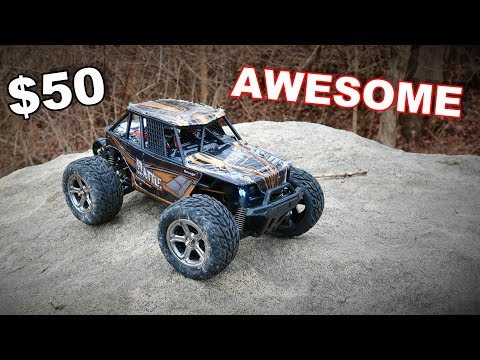 Awesome Mini Monster Truck Under $50 4X4 Wheelies - WLtoys 20409 - TheRcSaylors
