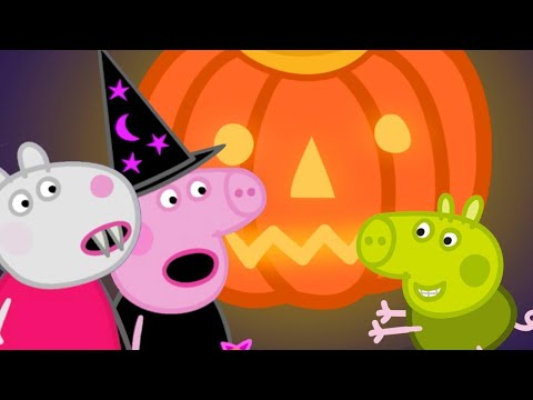 Peppa Pig Official Channel 🎃 Peppa Pig and Suzy Sheep's Pumpkin Party | Halloween Special 🎃