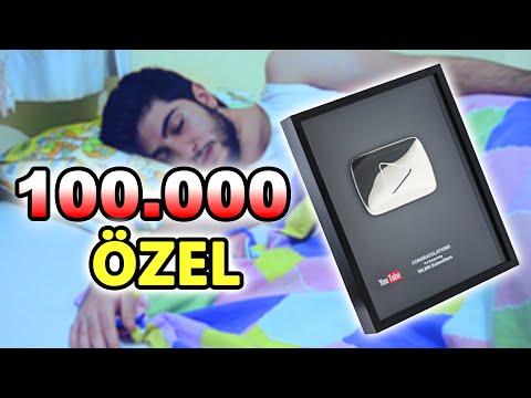 100.000 ABONE ÖZEL PLAKET! (Snapchat Soru & Cevap)