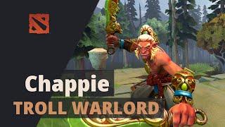 Chappie plays Troll Warlord Dota 2 Full Game