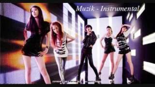 4Minute - Muzik {Instrumental}