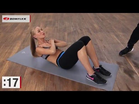 Bowflex® Bodyweight Workout | Four-Minute Ab Workout