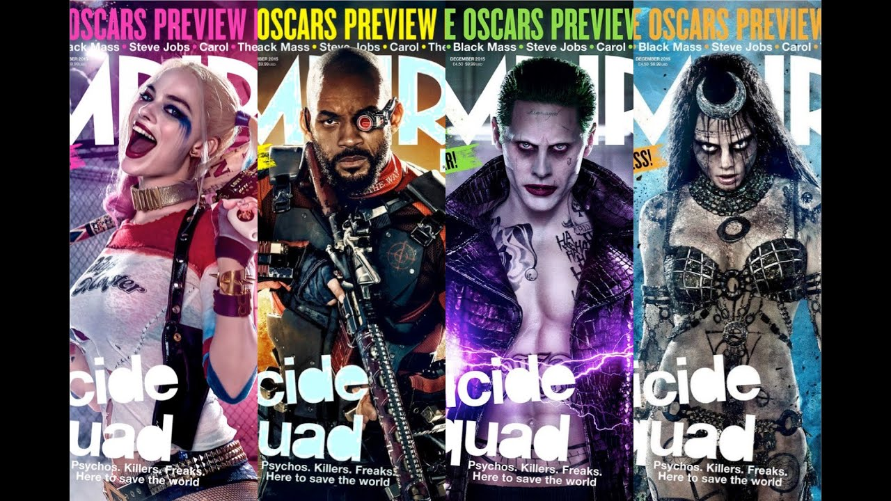 Suicide Squad Empire Covers Jared Leto Talks The Joker Power Rangers Title Change More