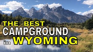 THE BEST CAMPGROUND IN WYOMING || GROS VENTRE CAMPGROUND || GRAND TETON NATIONAL PARK