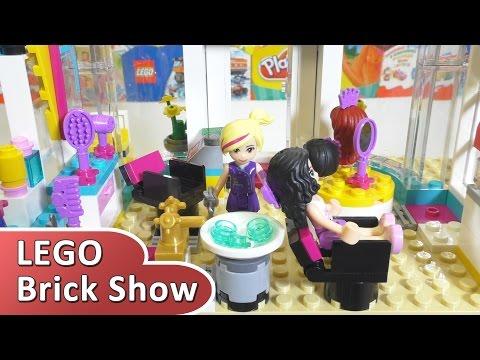 LEGO Friends 41093, Лего Подружки Парикмахерская Хартлейк Сити