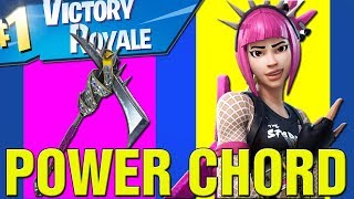 Fortnite How To Get FREE POWER CHORD Skin In Fortnite! New Power Chord RARE Skin Gameplay LIVE!