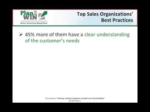 Penetrating Target And Strategic Accounts - Strategic Account Plans
