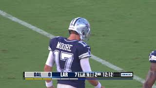 Rookie Noah Brown 1st Down Reception |Rams vs Cowboys|