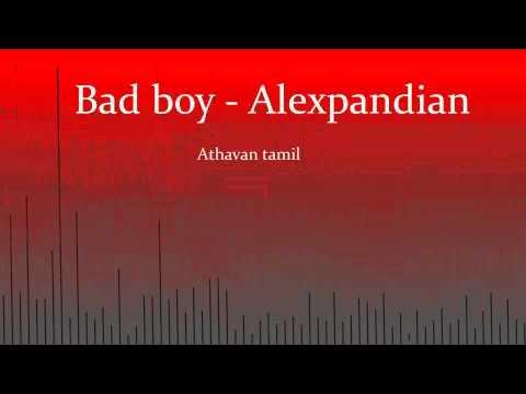 Bad Boy - Alex Pandian (Lyrics)