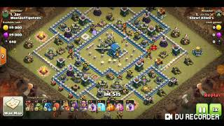 Clash of clan th12 max base #war attacks episode #1