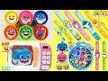 Gambar cover Learning Colors Play Doh PinkFong Baby Shark Compilation Toy Surprises