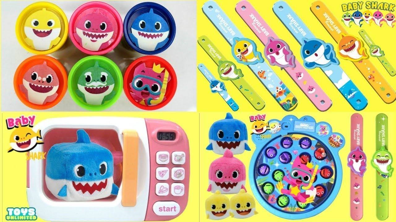 Download Learning Colors Play Doh PinkFong Baby Shark Compilation Toy Surprises