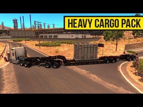 Heavy Cargo Pack DLC | Nuevas Cargas Pesadas | American Truck Simulator |