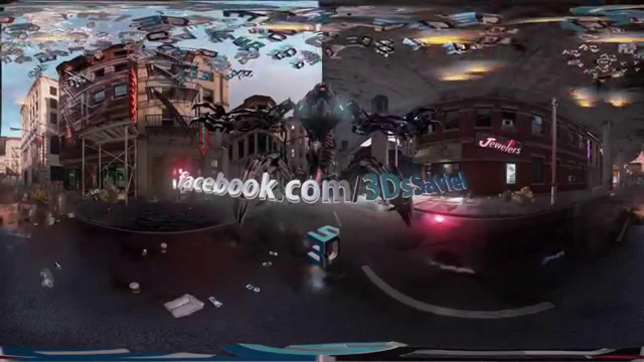 Unreal Engine 4 Showdown Demo 360° Video - VR Pill