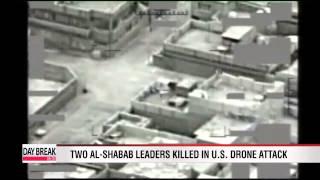 Drone strike kills at two al-Shabab leaders in Somalia - eyewitnesses