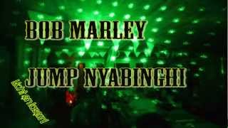 Bob Marley - Jump Nyabinghi - lyrics in description - laser show