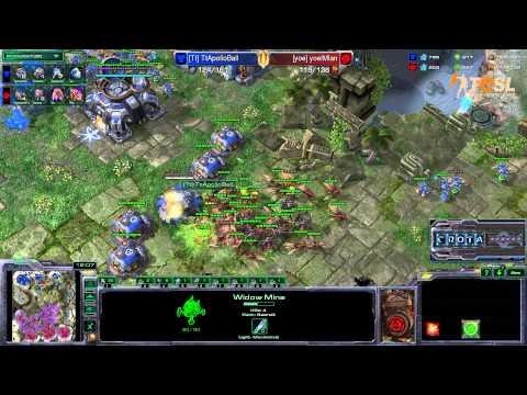 Ian (Z) vs Ball (T) - TESL - Season Two Round Robin - StarCraft 2 - G1