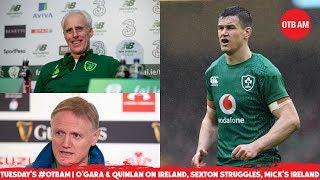 LIVE #OTBAM: O'Gara's Six Nations post-mortem, Rory McIlroy's Year, Jack Byrne, Failure in Football