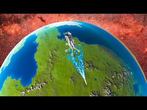 Creating an EARTH DESTROYING DEATH LASER in Kerbal Space Program! |