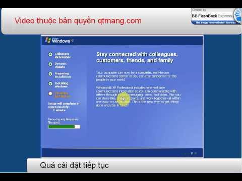 Cai dat windows xp chi tiet - qtmang.com