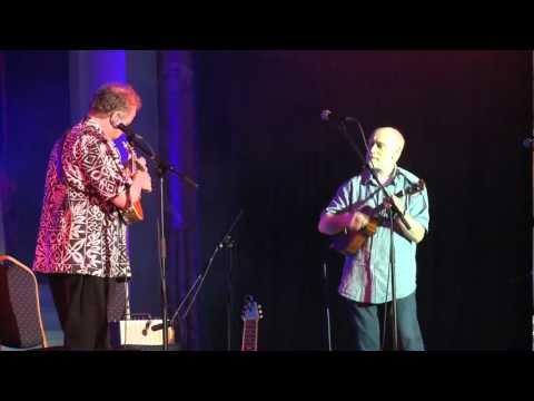 Gerald Ross and Ken Middleton play the Tennessee Waltz - Cheltenham Uke Festival 2012