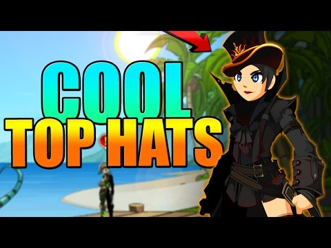 HOW TO GET COOL TOP HATS IN AQW Adventure Quest Worlds