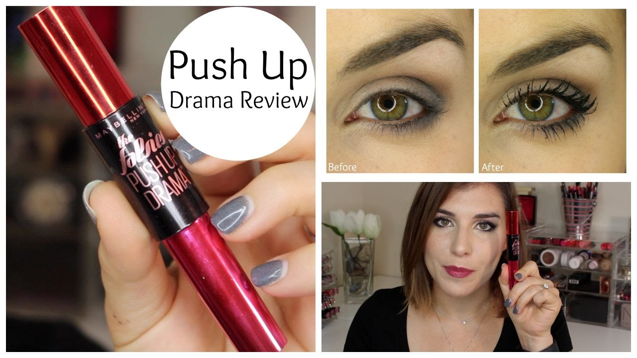5d61504e604 Maybelline The Falsies Push Up Drama Mascara Review | Bailey B. - YouTube