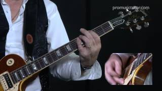 Fool For Your Loving Guitar Lesson by Micky Moody from Whitesnake