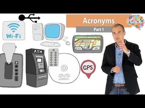Click [by Mahidol] Acronyms Part 1 - ตัวย่อภาษาอังกฤษน่ารู้ ในชีวิตประจำวัน