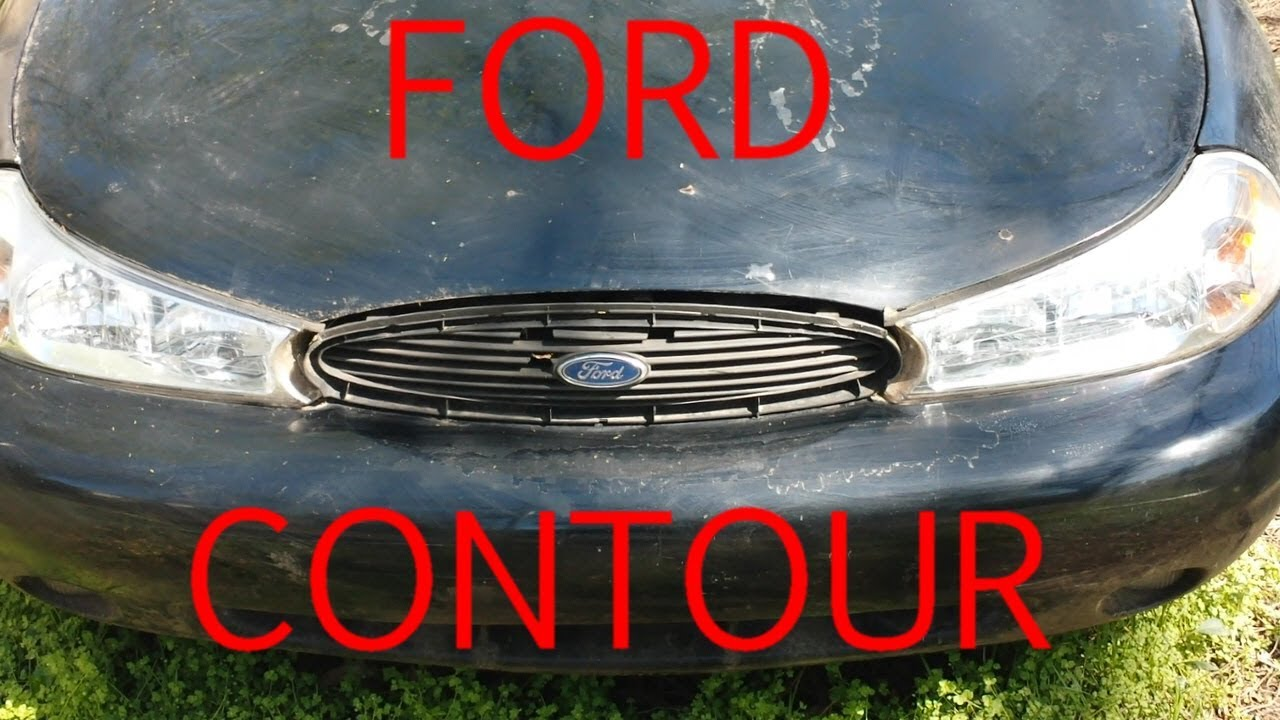 2000 ford contour headlight assembly