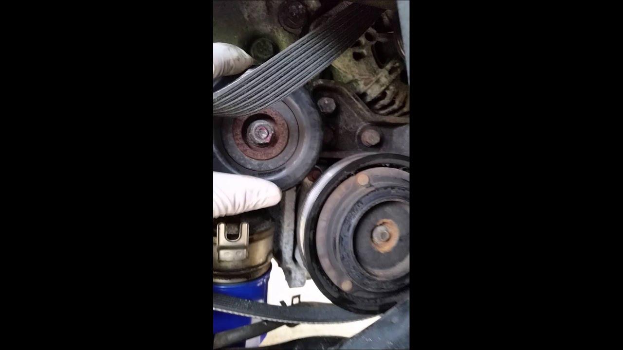 medium resolution of 05 hyundai santa fe 3 5 fan belt remove and replacement
