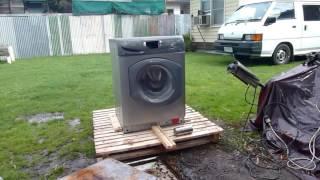 видео Возгорание стиральной машины